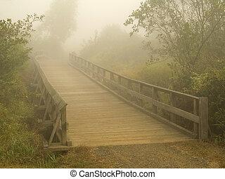 ομιχλώδης , γέφυρα