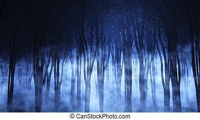 ομιχλώδης , δάσοs , 3d
