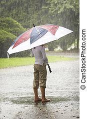 ομπρέλα , αναμμένος άρθρο βρέχει
