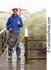 ομπρέλα , νέοs άντραs
