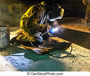 οξυγονοκολλητής , εγκατάσταση , work., weekdays, βιομηχανικός , ασφάλεια , pipeline., fitters, ενώνω