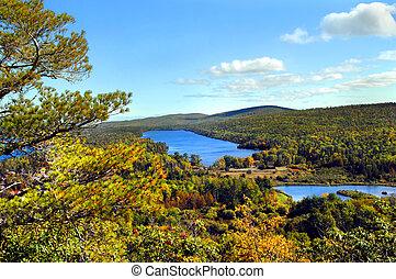 οπίσθια , λίμνη , hooe