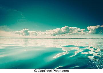 ορίζοντας , θαλασσογραφία , θάλασσα , sky.