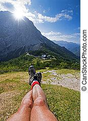 ορειβατικέs μπότεs