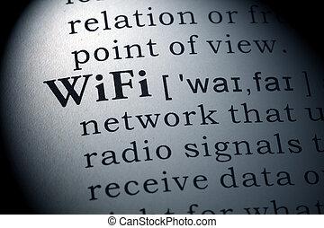 ορισμός , wifi