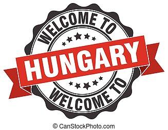 ουγγαρία , στρογγυλός , ταινία , σφραγίζω