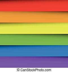ουράνιο τόξο , έλασμα , γραφικός , spectrum., αφαιρώ , ταπετσαρία , αλληλεπικαλύπτω , χαρτί , effect., μπογιά , μικροβιοφορέας , φόντο , σκιά , ευτυχισμένος
