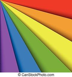 ουράνιο τόξο , τακτός , έλασμα , γραφικός , effect., αφαιρώ , ταπετσαρία , φάσμα , αλληλεπικαλύπτω , fan., χαρτί , μπογιά , μικροβιοφορέας , φόντο , σκιά , ευτυχισμένος