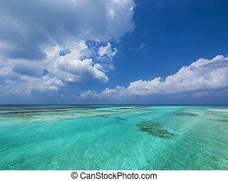 ουρανόs , θάλασσα