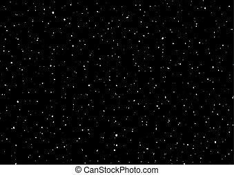 ουρανόs , νύκτα