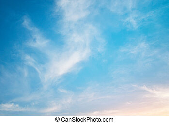 ουρανόs , φόντο