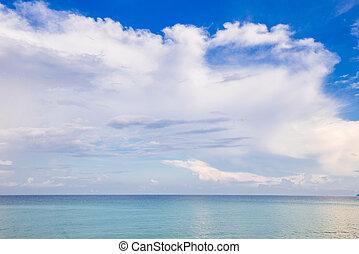 ουρανόs , φόντο , θαλασσογραφία , ειδυλλιακός , σύνεφο , μπλε