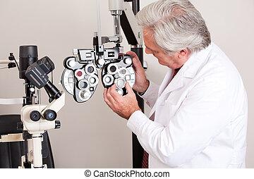 οφθαλμολογία , κλινική , γιατρός