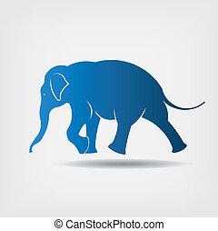 ο ενσαρκώμενος λόγος του θεού , μικροβιοφορέας , ελέφαντας