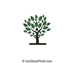 ο ενσαρκώμενος λόγος του θεού , πράσινο , φόρμα , δέντρο , άνθρωποι