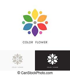 ο ενσαρκώμενος λόγος του θεού , χρώμα , λουλούδι