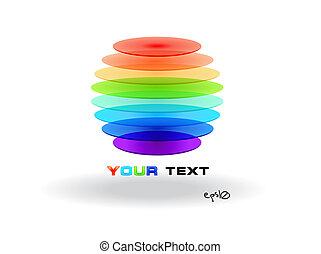 ο ενσαρκώμενος λόγος του θεού , multicolor , sphere., αφαιρώ