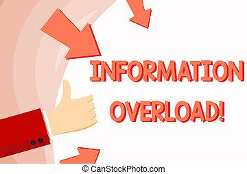 πάνω , πληροφορία , ή , γενική ιδέα , διάστημα , εδάφιο , arrows., έννοια , χειρονομία , χέρι , σχήμα , πολύ , αντίστοιχος δάκτυλος ζώου , κράτημα , κενό , γραφικός χαρακτήρας , έκθεση , εφοδιασμός , στρογγυλός , overload.