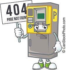 πάρκινγκ , 54, μηχανή , εισητήριο