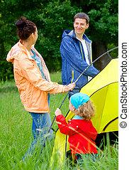 πάρκο , ειδών ή πραγμάτων διαμονή σε κατασκήνωση