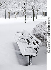 πάρκο , χειμώναs