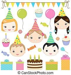 πάρτυ, γενέθλια
