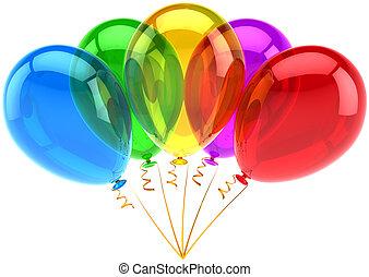 πάρτυ , μπογιά , κλασικός , πέντε , μπαλόνι