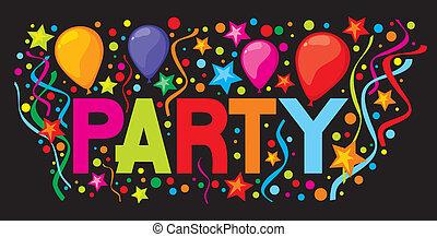 πάρτυ , σχεδιάζω