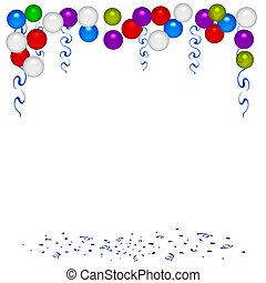 πάρτυ , balloon, βιβλίο απορριμμάτων