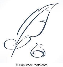πένα , γραφή
