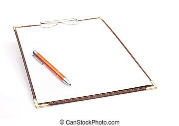 πένα , clipboard