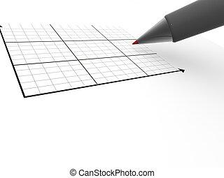 πένα , schedule., 3d