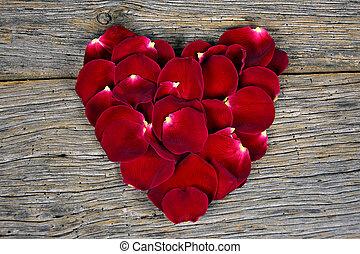 πέταλο άνθους , καρδιά , αριστερός ανατέλλω