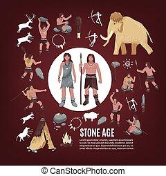 πέτρα , θέτω , άνθρωποι , ηλικία , απεικόνιση