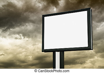 πίνακαs ανακοινώσεων , με , αδειάζω , οθόνη , πάνω , άγνοια θαμπάδα