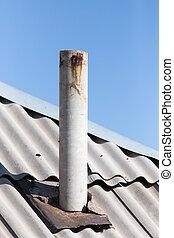 πίπα καπνίσματος , γριά , οροφή