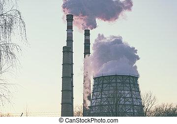 πίπα καπνίσματος , εργοστάσιο , καπνός