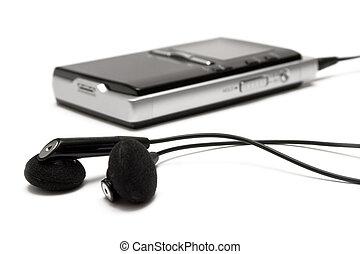 παίχτης , earbuds, mp3
