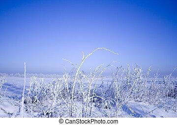 παγερός , χειμώναs