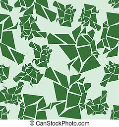 παγετών , πρότυπο , πράσινο , seamless