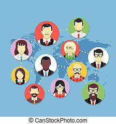 παγκόσμιος , επικοινωνία