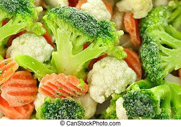 παγωμένος , λαχανικά