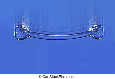 παγωμένος , droplet , αλίσκομαι , - , κίνηση