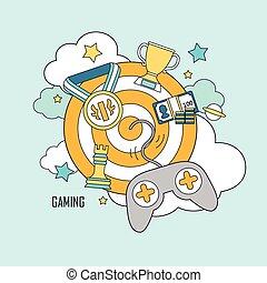 παιγνίδια , γενική ιδέα , ηλεκτρονικός υπολογιστής
