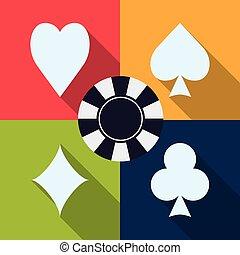 παιγνίδι , καζίνο , design.