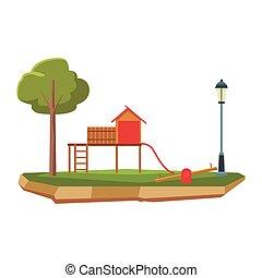 παιγνίδι , μικρόκοσμος , παιδική χαρά