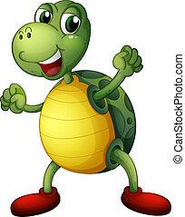 παιγνιδιάρης , θαλάσσια χελώνα