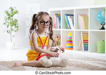 παιδί , λατρευτός , παίξιμο , daycare , γιατρός