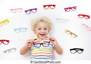 παιδί , μάτι , eyewear , θέα , παιδί , optitian., kids., test.