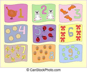 παιδιά , αριθμοί , εικόνες